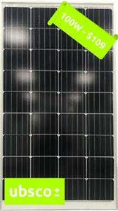 100W MONO-CRYSTAL SOLAR PANEL - PRE-ORDER ($89)