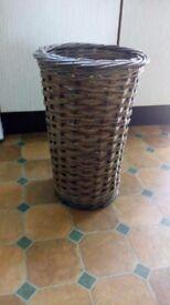 Whicker umbrella/walking stick basket