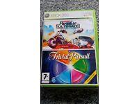 Burnout Paradise/ trivial pursuit Xbox 360