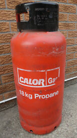 18KG FLT Calor Gas Bottle, F.L.T Gas Bottle, Fork Lift Truck Gas Bottle, Propane Gas Bottle.