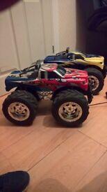 Pair of RC Monster Trucks