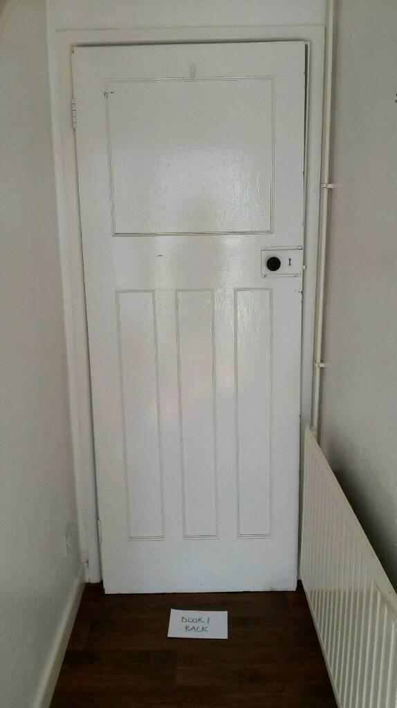 1920s 1930s Internal Interior Doors With Original Handles In