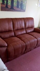 Two as new three seater Westchester sofas - purchased this year