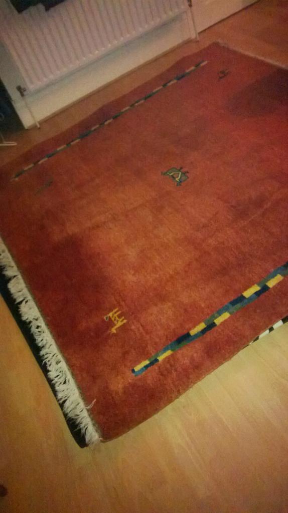 Rug Ikea Indo Gabbeh 200cm X 200 Cm 100 Wool