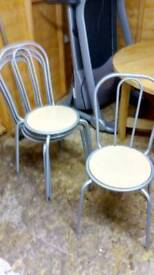 Set of 4 dinning chairs£15