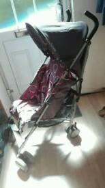 Macclaren Quest pushchair/buggy