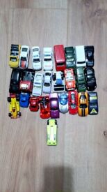 A collection of cars