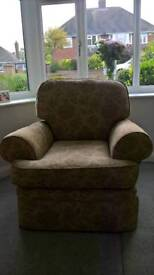 Marks and Spencer sofa, chair and footstool