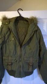Ladies Bomber-style jacket Size 10