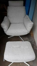 NEW!!! Lounge Chair and footstool