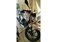 KSR WORx 125cc Learner legal mint bike