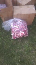 6 boxes of flannels brand new