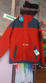 Columbia Winter Waterproof Jacket -Size Large / Color Red/Blue