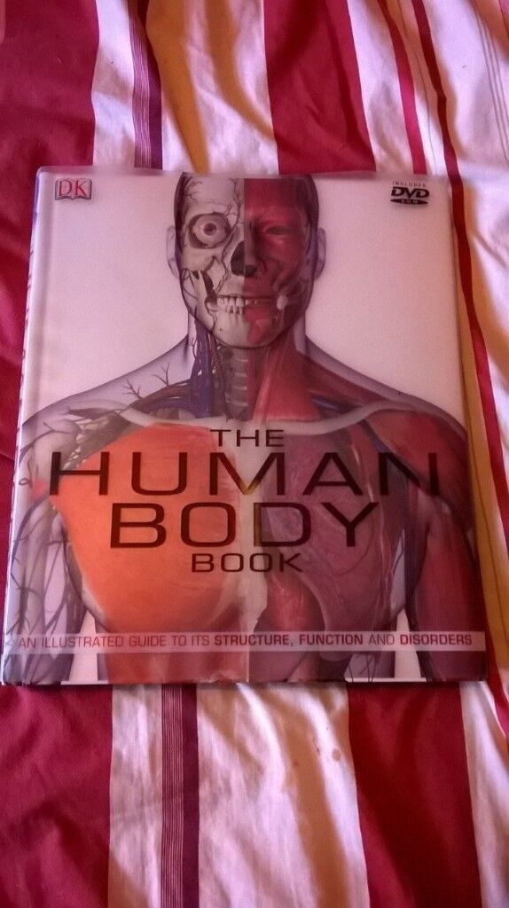 The Human Body Book With Dvd Included In Glenfield