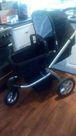 my3 stroller pram £40 [ rain cover }