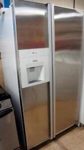 WORKING STAINLESS FRIDGE FOR SALE -