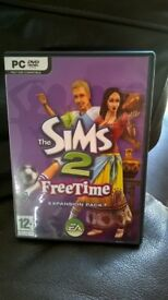 SIMS 2 Freetime Expansion Pack DVD