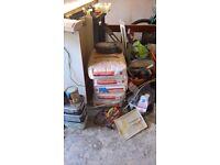 pir foam insulation board (xtratherm, kingspan, celotex), plaster boards, skim, job lot