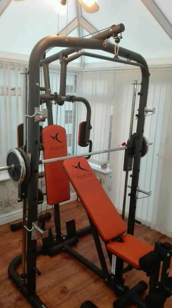 Dimension Banc Musculation Domyos Bm900 Vinnyoleo Vegetalinfo