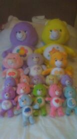 16 care bears excellent condition