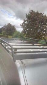Heavy duty rhino roof rack lwb