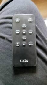 Logik soundbar remote
