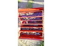 joblot mechanics tools and box