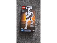 Lego Star Wars 75114 Storm Trooper buildable figure.