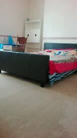 Furnished double beds room available for rent all bills included