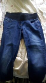 Maternity jeans x 2