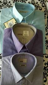 3 BNWT Shirts inc Ben Sherman. Size 16 collar