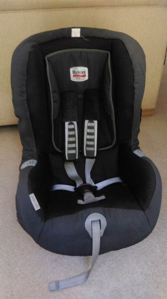 Britax Car Seat With Inbuilt Isofix And Option For Seatbelt Use Second Stage