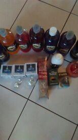 Oil candle fluids