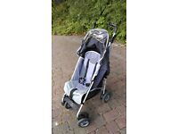 MACLAREN TECHNO XT STROLLER PUSHCHAIR BUGGY PRAM, INCLUDES RAIN COVER & COSY TOES