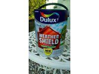 Brand New Unopened Dulux Weathershield Green Ivy Matt Masonary Paint