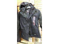 Black ski jacket & trousers NEW