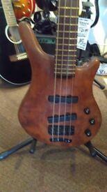 1991 WARWICK Thumb Bass 4 string made in Germany Bubinga body