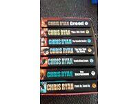 Chris Ryan box set of 8 books for 50p each