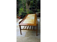 A stylish Vintage Teak Long John Coffee Table