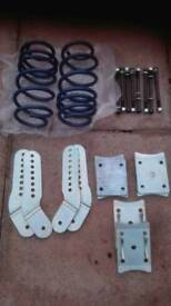 Volkswagon Caddy lowering kit