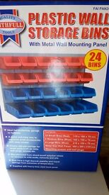 Faithfull Plastic Storage Unit BNIB