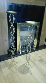Large Candle holders