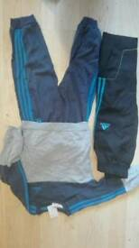 Adidas tracksuit and extra adidas bottoms 12-18months