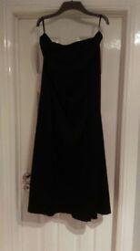 cruise satin full length black skirt for sale