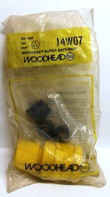 Woodhead Watertite Super Safeway Plug 14w07 Non-nema