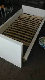 Ikea sultan single bed frame. Free delivery