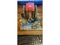 amd motherboard, cpu, ram, cooler bundle