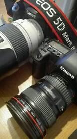 Canon 5d mark ii low shutter