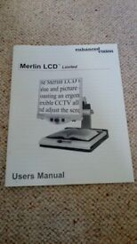 Merlin LCD Low Vision Magnifier