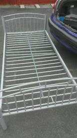 Single metal bed frame.FREE delivery